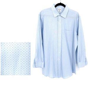 Brooks Brothers Regent Fit Dress Shirt Size 17/33